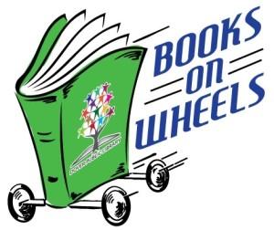 Books on Wheels Logo