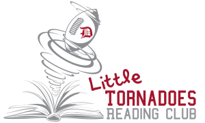 Little Tornadoes Reading Club Logo