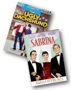Ugly Dachshund and Sabrina